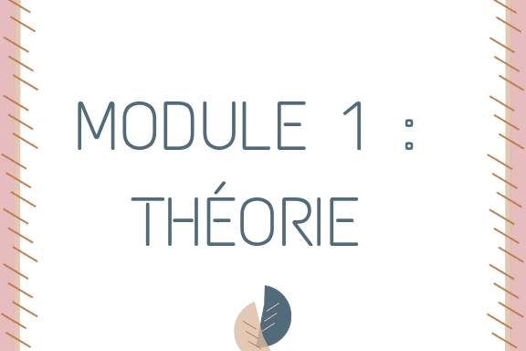 MODULE 1 _ THEORIE FORM